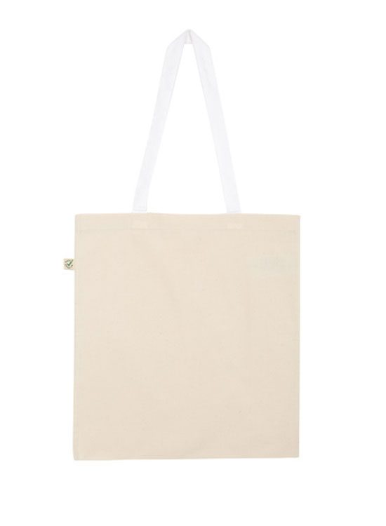 b723006ef Tote Bag de algodón orgánico Contraste – Camisetas ecológicas by ...