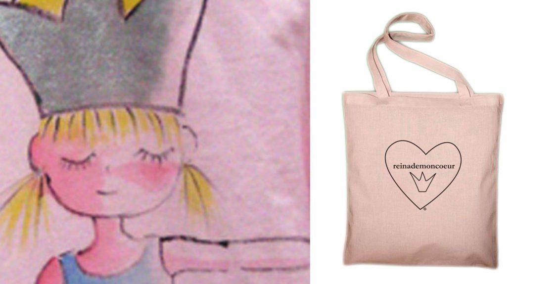 c46c1eb6e Bolsas Reina de Mon Coeur 100% algodón orgánico · Camisetas Ecologicas  Colaboraciones ...