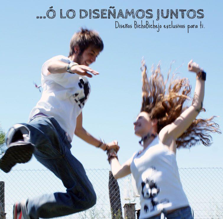 305c9713f Camisetas ecológicas by bichobichejo – Personalizamos tus ideas ...