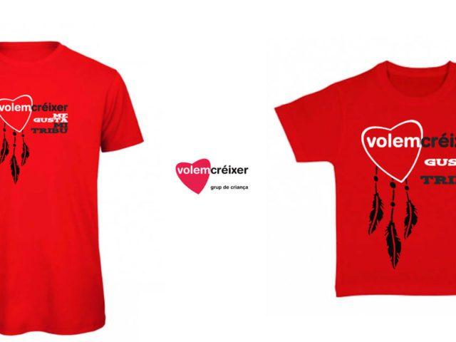 7f265ffe8b974 Camisetas Ecológicas para Volem Créixer