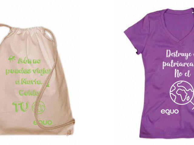 9ae365a2c988f Camisetas y Mochilas 100% algodón orgánico.