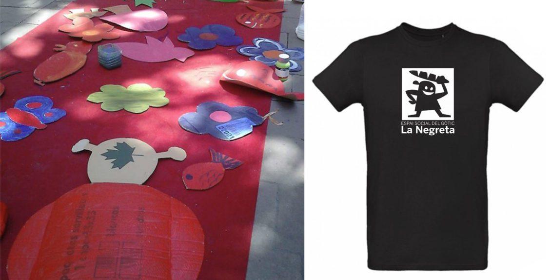 c072c214c Camisetas La Negreta 100% Algodón Orgánico. Camisetas Ecologicas  Colaboraciones ...